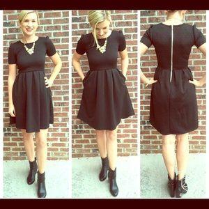 BRAND NEW, NEVER WORN Black LulaRoe Amelia Dress